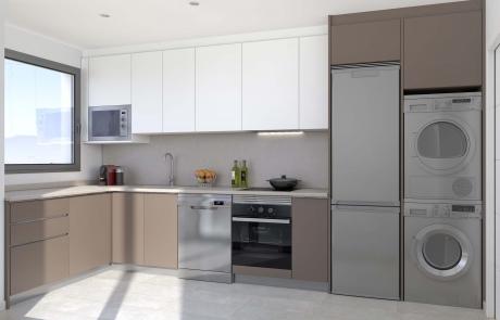 Detalle cocina Apartamentos Sostenibles en l'Om de Tiana