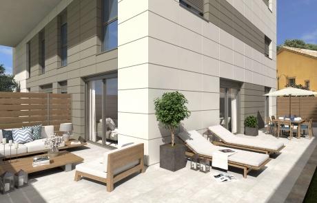 Planta baja en Edificio sostenible en l'Om de Tiana