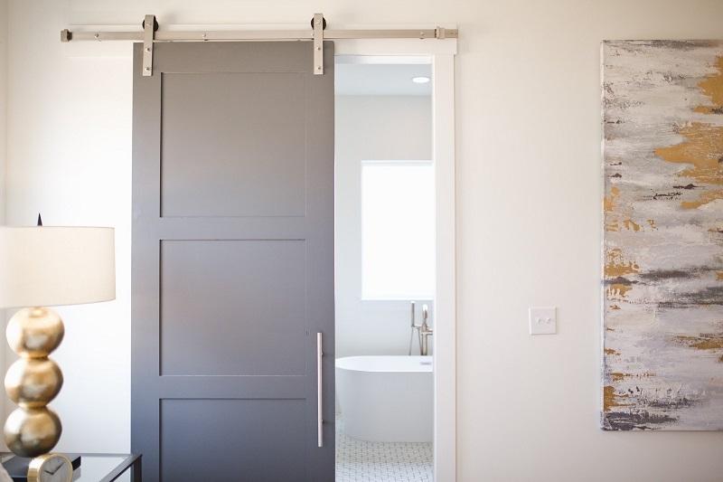 distribución de viviendas - puerta corredera