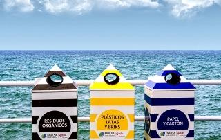 Contenedores reciclaje