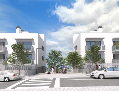 Promoción Les Gaures, viviendas sostenibles en Barcelona