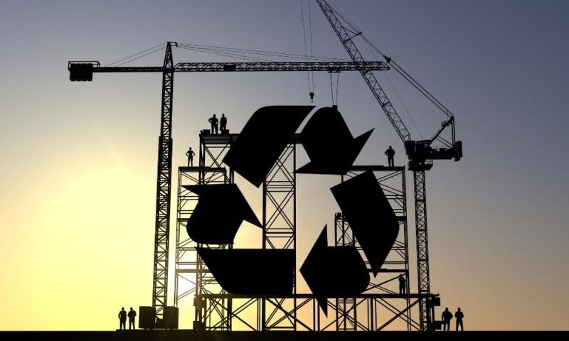 Materiales de construcción reciclados